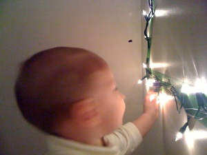 . . . when infants and lights meet . . .